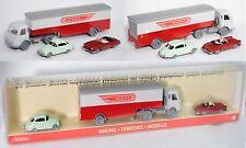 Wiking 172055 Set Nr. 2: DKW Meisterklasse & Mercedes-Benz LPS & 190 SL 1:87