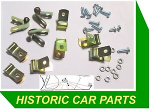 AUSTIN HEALEY 3000 Mk 2 BN7 BT7 BJ7 1961-63 - CHASSIS PETROL PIPE FIXING CLIPS