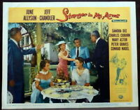 ~ Sandra Dee June Allyson ORIGINAL 1950s Lobby Card Stranger in My Arms