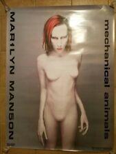 Marilyn Manson Super Rare Vintage Mechanical Animals Store Poster