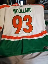 Uhl 2006 Allstar  classic  quack City mallards  woollard Signed  Jersey gameworn