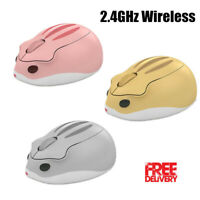 AKKO Hamster 2.4GHz Wireless Mouse Cordless Cute Mouse	4000DPI For PC Computer
