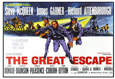 FILM & TV (GREAT ESCAPE) - FUN SOUVENIR NOVELTY FRIDGE MAGNET - GIFT - BRAND NEW