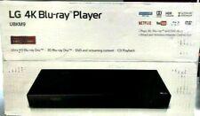 LG 4K Blu-Ray-DVD Player Streaming~Ultra HD Audio Dolby~Wired / Wireless / USB