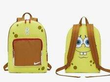 Nike Kyrie 5 SpongeBob Kids Youth Yellow Brown Red White Backpack Bag CN2219-731