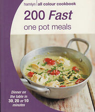 200 Fast One Pot Meals by Octopus Publishing Group NEW BOOK (Paperback, 2015)