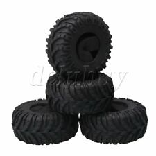 """4Piece Rock Crawler Car 2.2"""" ID Rubber Tyre Tires for RC 1:10 Model Car"""