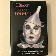 HEART OF THE TIN MAN SIGNED  1ST JACK HALEY Wizard of oz