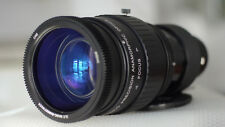 Anamorphic lens Runco1.33x 46-85mm F2.8 zoom modtoSingle Focus 0.92m Iscorama 54