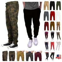Men Slim Fashion Jogger Pants Hip Hop Trouser Casual Hipster Workout Sweatpants