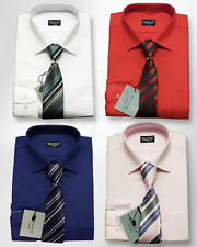 Polycotton Long Sleeve Shirts (2-16 Years) for Boys