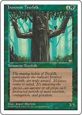 MTG - Magic the Gathering -  Fourth Edition (1995) - Ironroot Treefolk