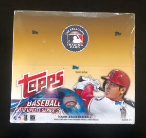 2018 Topps UPDATE SERIES baseball sealed RETAIL 24-pack box Soto Acuna Ohtani!!!