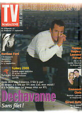 FIGARO TV 09/09/2000 christophe dechavanne