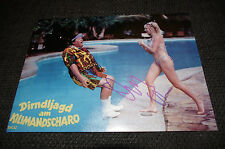 "Dolly dollars signed autographe sur ""dirndljadg le mont Kilimandjaro"" photo inperson"
