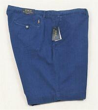 Polo Ralph Lauren Shorts Seersucker Indigo Blue Classic Fit 48 52 NWT $99