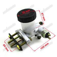 Brake Master Cylinder For Hammerhead 150 Kandi Roketa Kinroad Go Kart Dune Buggy