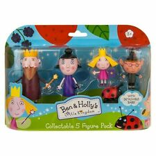 BEN & AND HOLLY 5 FIGURE PACK NEW INCLUDES GASTON, NANNY PLUM + KING THISTLE.