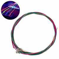 String Electric Bass Guitar Strings Light Gauge .04 To .100 Colored