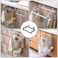 Bag Garbage Holder Kitchen Trash Plastic Rack Hanging Portable Can Storage Stand