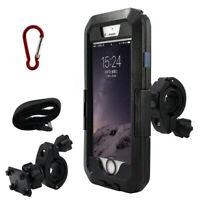 Waterproof Bike Bicycle Handlebar Mobile Phone Holder Mount Case For iPhone 7 8X