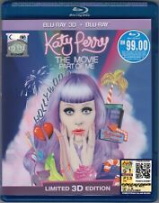 KATY PERRY The Movie Part Of Me MALAYSIA LIMITED 3D + BLU-RAY 2 DISC FREE SHIP