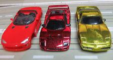 Für H0 Slotcar Racing Modellbahn -- Viper / Corvette / Ferrari F40 Karosserie