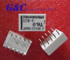 Relais Takamisawa A5W-K DIP-10 Relay 2x UM 5V Audio Signal