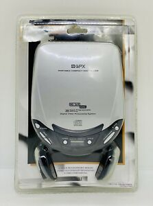 GPX Portable Compact Disc CD Player With Headphones C3851 New Sealed