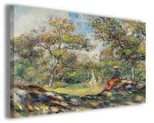 Quadri famosi Pierre Auguste Renoir vol III Stampa su tela arredo moderno arte
