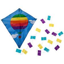 Miles Kimball Children's Hot Air Balloon Kite, Colorful Kite for Kids