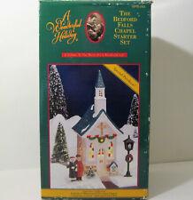 Original It's a Wonderful Life Village The Bedford Falls Lighted Chapel Church