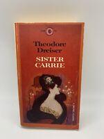 Sister Carrie Theodore Dreiser 1961 Vintage Signet Classics PB Book Literature