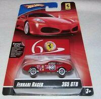Hot Wheels Ferrari 365 GTB rot Metall Modellauto Sportwagen 2007 60 Jahre F