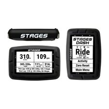 STAGES CYCLING Dash GPS Fahrrad Computer Schwarz