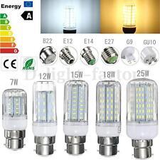 4x G9 GU10 B22 E14 E26 E27 Ampoule 12/15/18/21/25W LED 4014 SMD Maïs Bulb Lampe