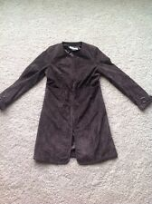 Bradley Bayou Suede Leather Jacket Coat Brown Size XS