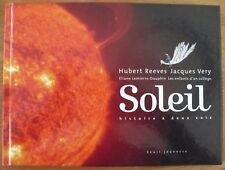 Dédicace Hubert Reeves sur Soleil
