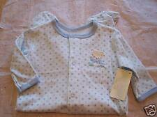 RENE ROFE One Piece FOOTSIE Baby Outfit 0~3 Months BLUE