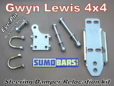 Steering damper relocation kit yeux/pin sumobars discovery 1 rrc gwynlewis 4x4 h/d