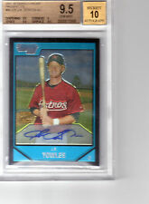 07 Bowman Chrome J.R.Towles Auto RC 9.5 Gem Mint
