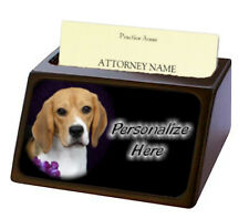 Beagle  Pet Breed  Personalized Business Card Holder
