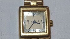 Reloj De Pulsera Chapado en Oro Retro Damas Guess/Reloj