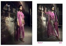 Soya4 Cotton Printed Unstich Indian Designer Suit Pakistani Style Salwar Kameez