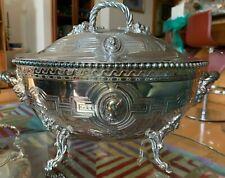 19C Renaissance Revival/Louis XV Revival ? Fabulous silverplate serving tureen