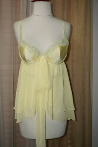 Victoria's Secret Babydoll Chemise Lingerie Size 36 C