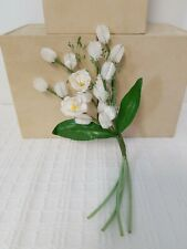 Vintage Millinery Flowers Bouquet Hats Corsage Lily of the Valley Pussy Willow
