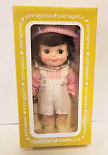 """Vintage 1966 Effanbee Doll Half Pint 11"""" Original Perfect Pink Outfit"""