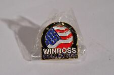 WINROSS COLLECTOR LAPEL HAT PIN TRUCK TRAILER DOUBLES BOX FLATBED DELIVERY 113