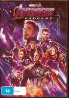 Avengers Endgame DVD NEW Region 4 Robert Downey Chris Hemsworth